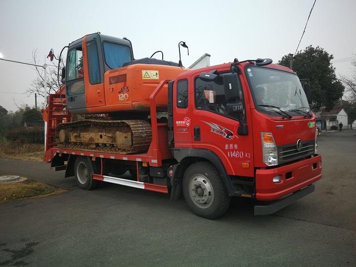 重汽王牌CDW5110TPB低平闆車